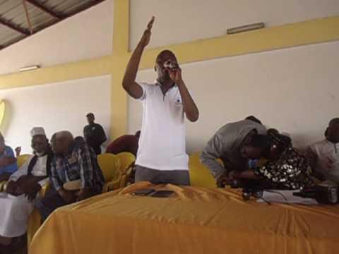 Assemblée Générale du RPG: Bantama Sow s'en prend à Cellou Dalein (vidéo)